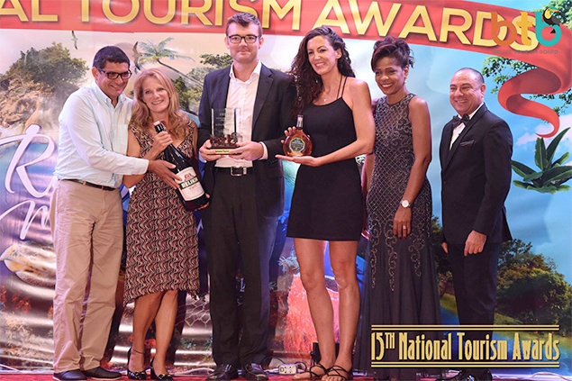 Small Accommodation of the Year: Caribbean Beach Cabanas, Placencia