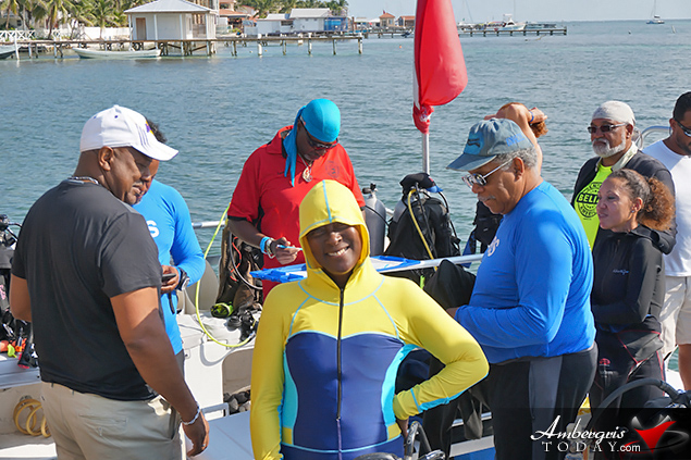 Over 100 Scuba Divers Descend on Ambergris Caye