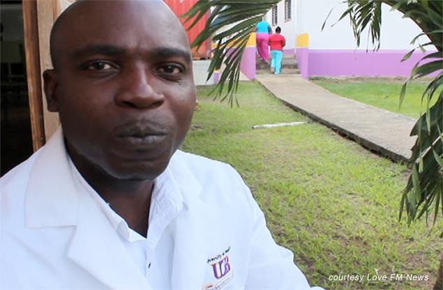 Bonaventure Nwangwu, Belize Top Scoring Nursing Student