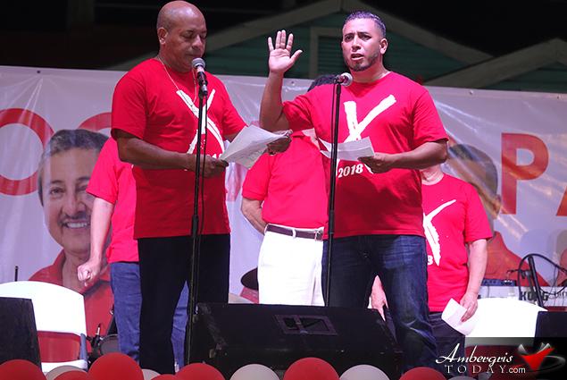 San Pedro UDP Holds Endorsement Convention