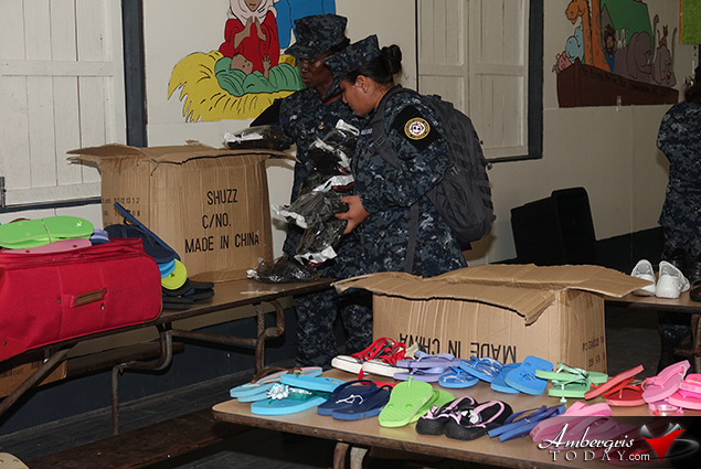 Belize Coast Guard Shoe Giveaway