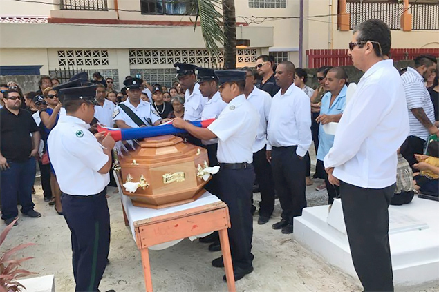 Don Alberto Nunez Laid to Rest after Island's First State Funeral