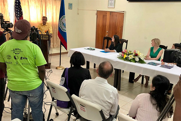 US Donates Equipment to Belize to Improve Testing for Viruses