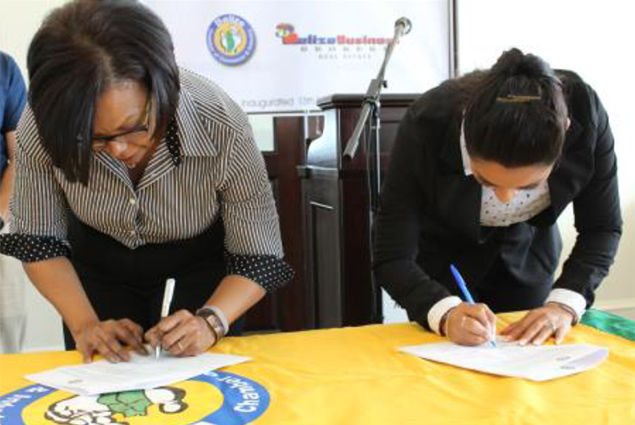 BCCI and Belize Business Brokers Signing of MOU and Launching of the 1st San Pedro Chapter