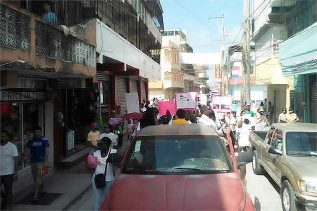 Baby Alyssa Nunez Dies, Belizeans Take to the Streets in Protest