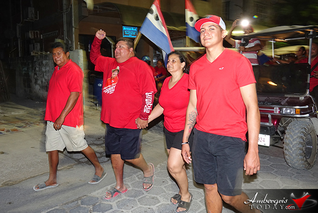 San Pedro Red Again, Danny and Team Go for Third Term in Office