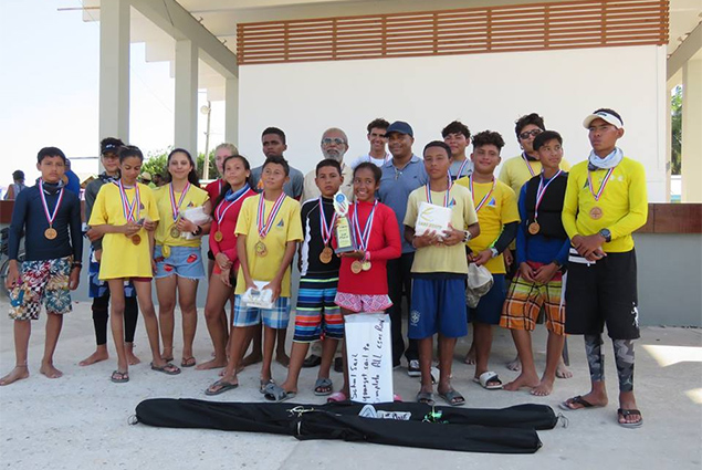 San Pedro Junior Sailing Team Participates in Baron Bliss Regatta
