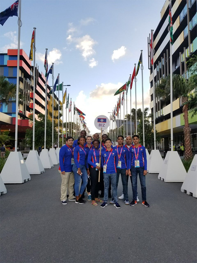 San Pedro Athletes at Commonwealth Games in Australia