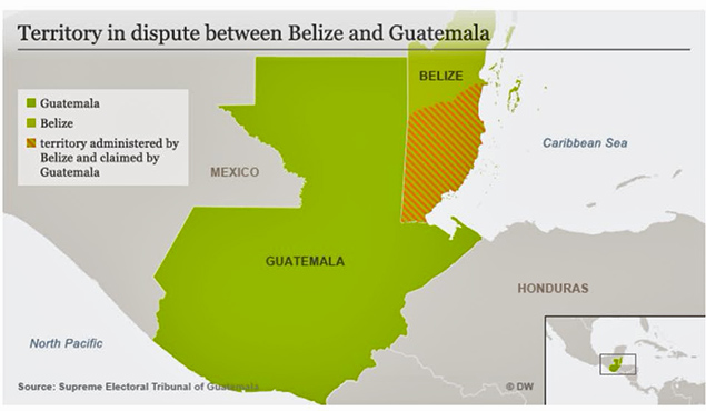 Guatemala votes to send territory dispute with Belize to ICJ