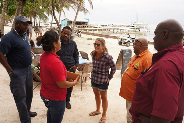 NEMO Assists Island Families Affected by Sunday's Storm