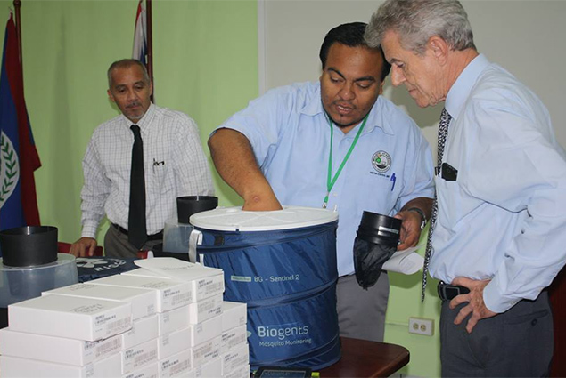 Ministry of Health Receives Donation of Equipment to Support Vector Control Efforts in Belize