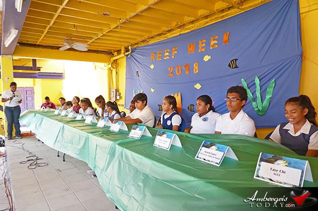 Isla Bonita Elementary's Annelyse Perdue Wins Reef Week Triva