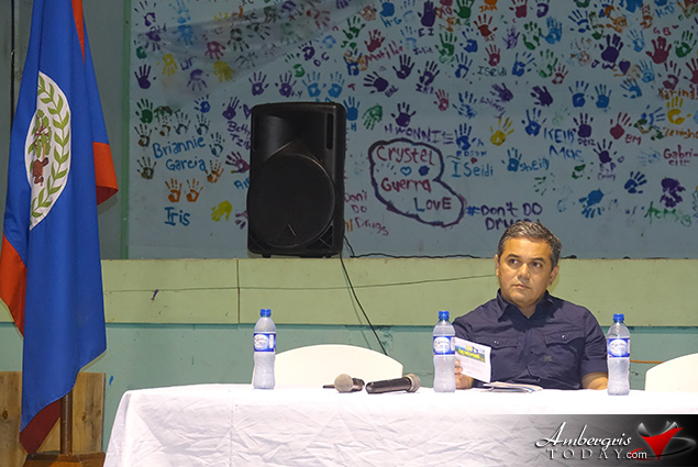 Ambassador of Belize to Guatemala Addresses Student Body on Belize-Guatemala Territorial Dispute
