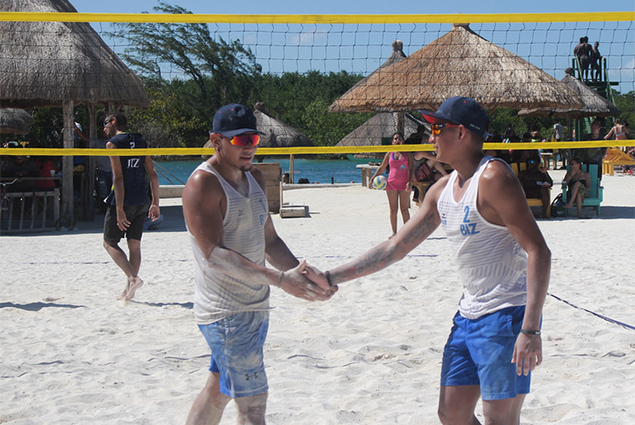 San Pedro Team Places 3rd at Volleyball Tournament in Caye Caulker