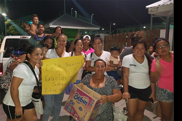 San Pedro Unites for Guatemala