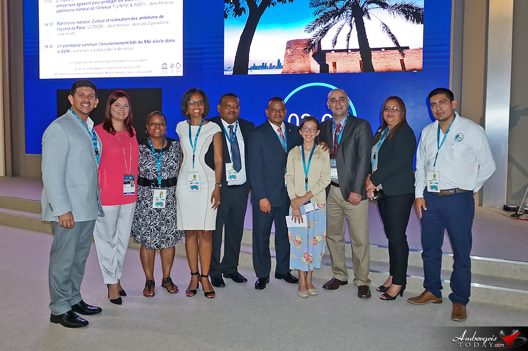 12-Year-Old Madison Edwards Impresses at World Heritage Committee Meeting in Bahrain