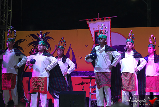 Comedian Macta Entertains at Dia De San Pedro Festivities