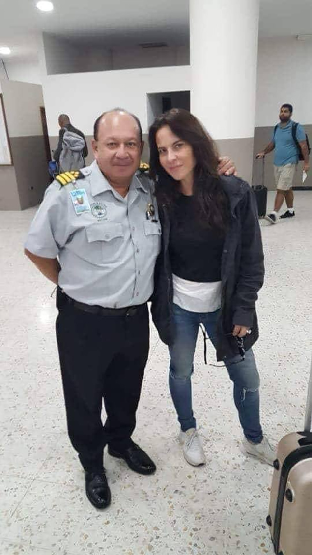 "Celebrity Spotting: Kate del Castillo ""La Reyna del Sur"" in Belize"