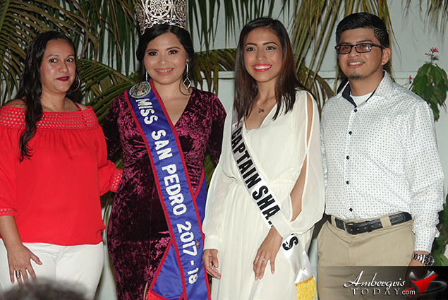 Miss San Pedro 2018 Delegates Presented at Sashing Ceremony