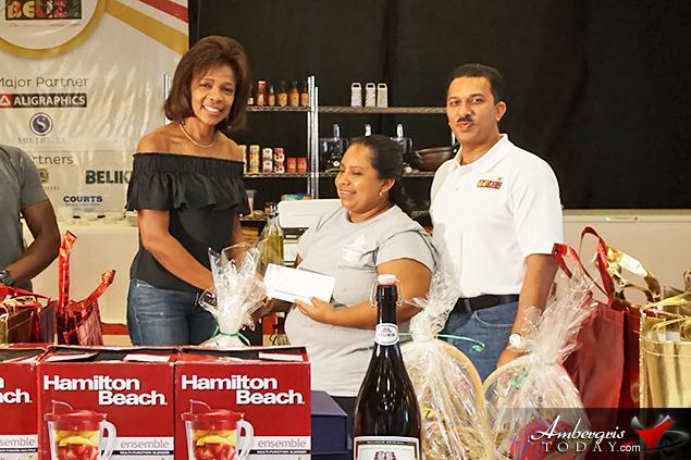 Bartender of the Year 2018 Competition: 1. Emir Sosa – Tony's Inn & Beach Resort at Cielo Restaurant 2. Liberto Fermin Choc – Turneffe Island Resort 3. Armando Wade - Sandbar