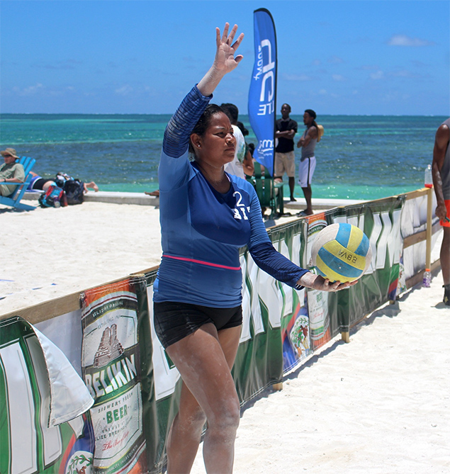 Belize Represented in Beach Volleyball at the 2018 Central American and Caribbean Games