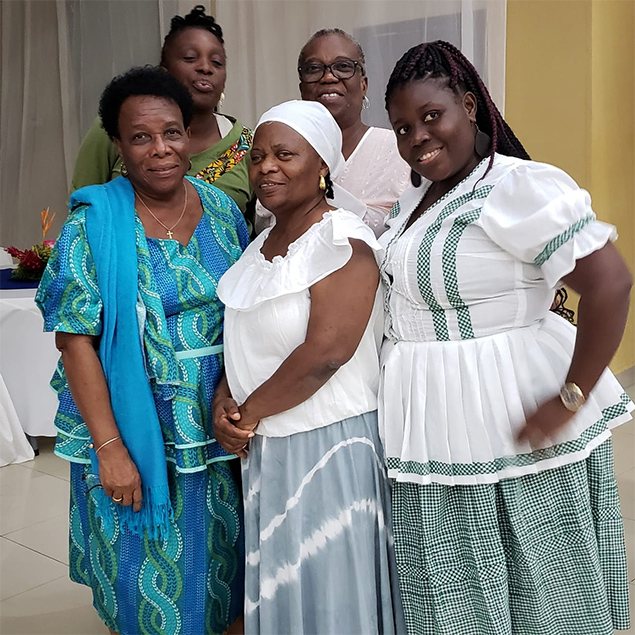National Garifuna Council Attends Afro descendant Women's Encounter in Guatemala