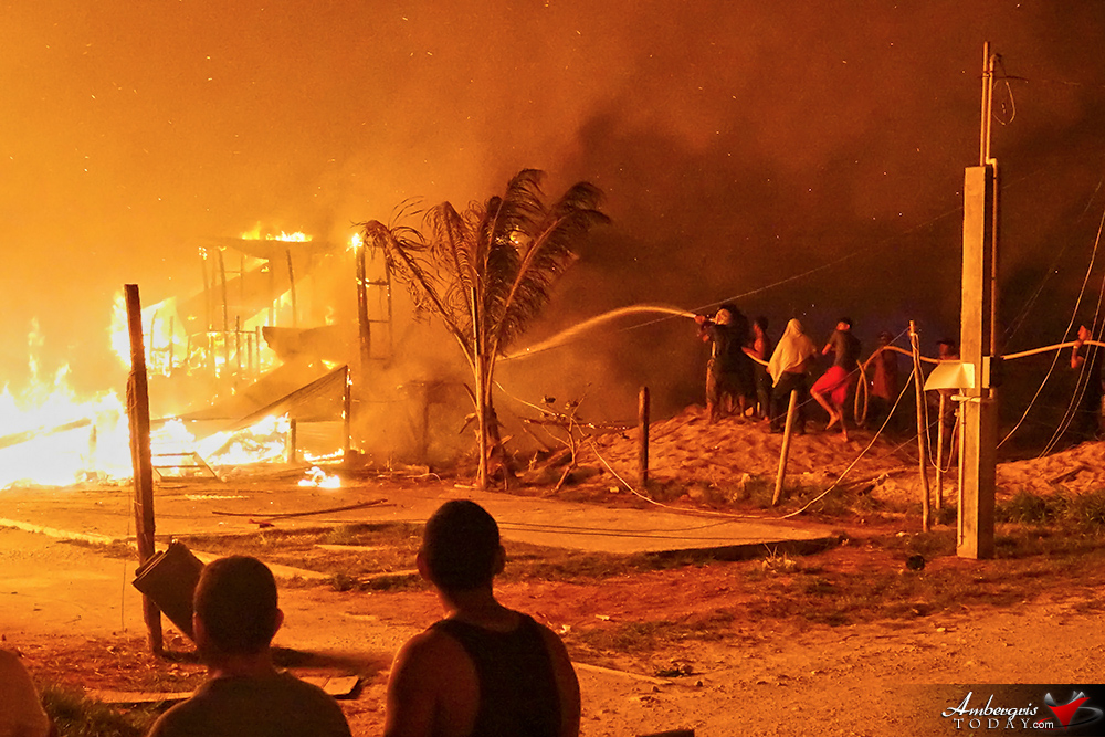 Island Blaze Leaves Over 80 Homeless Destroying 10 Structures