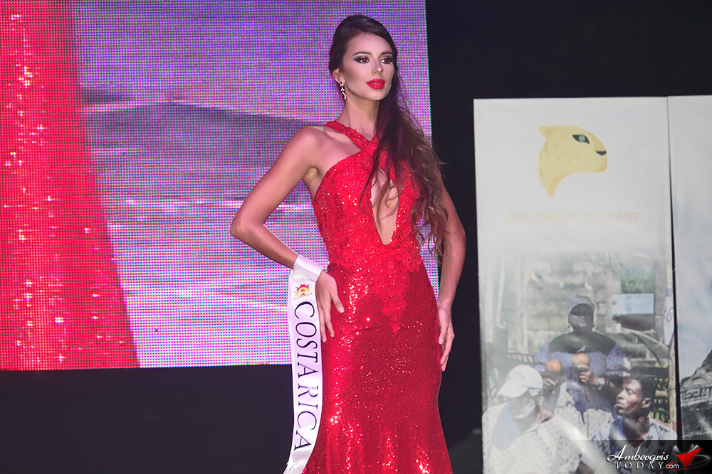 Miss Costa Rica, Miss Costa Maya Pageant 2018