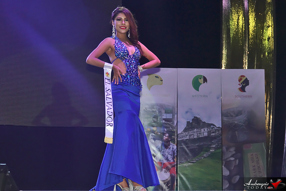 Miss El Salvador, Miss Costa Maya Pageant 2018