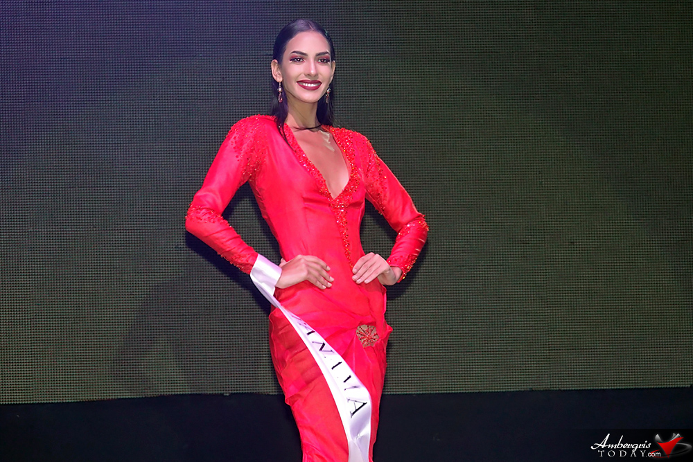 Miss Panama, Miss Costa Maya Pageant 2018