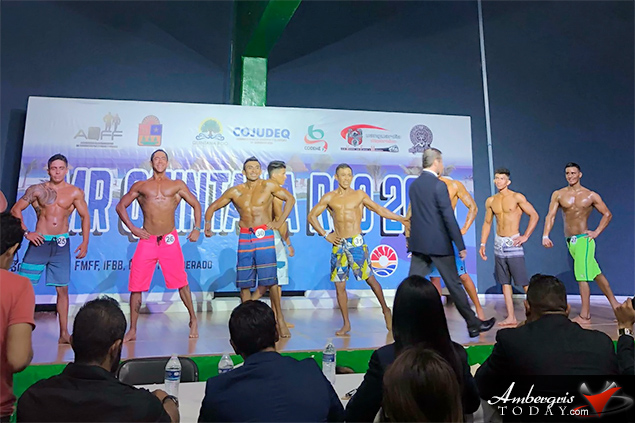 Kyrone Vasquez Represents Belize at Mr. Quintana Roo Physique Competition