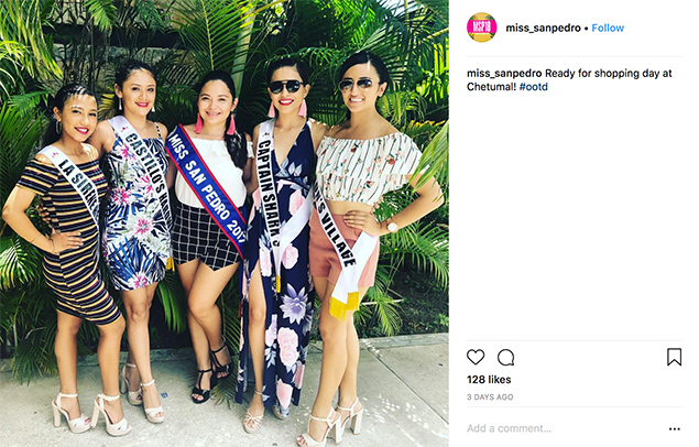Miss San Pedro Contestants in Traffic Accident While Visiting Mexico