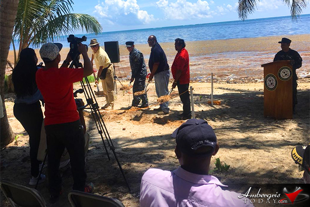 Groundbreaking Ceremony Held for Coast Guard Station in Bacalar Chico