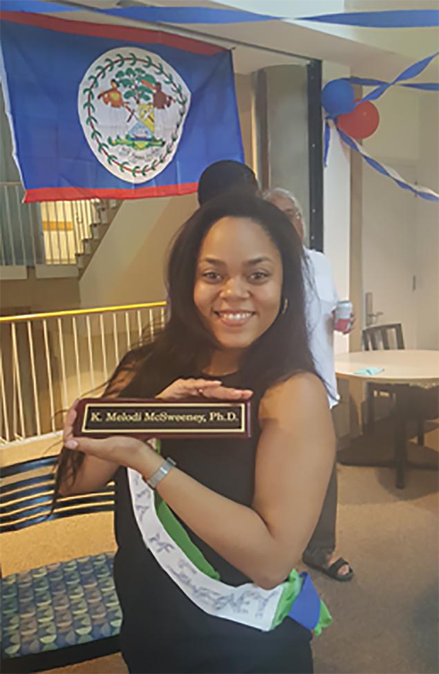 Belizean Completes Ph.D in Genetics at Duke University