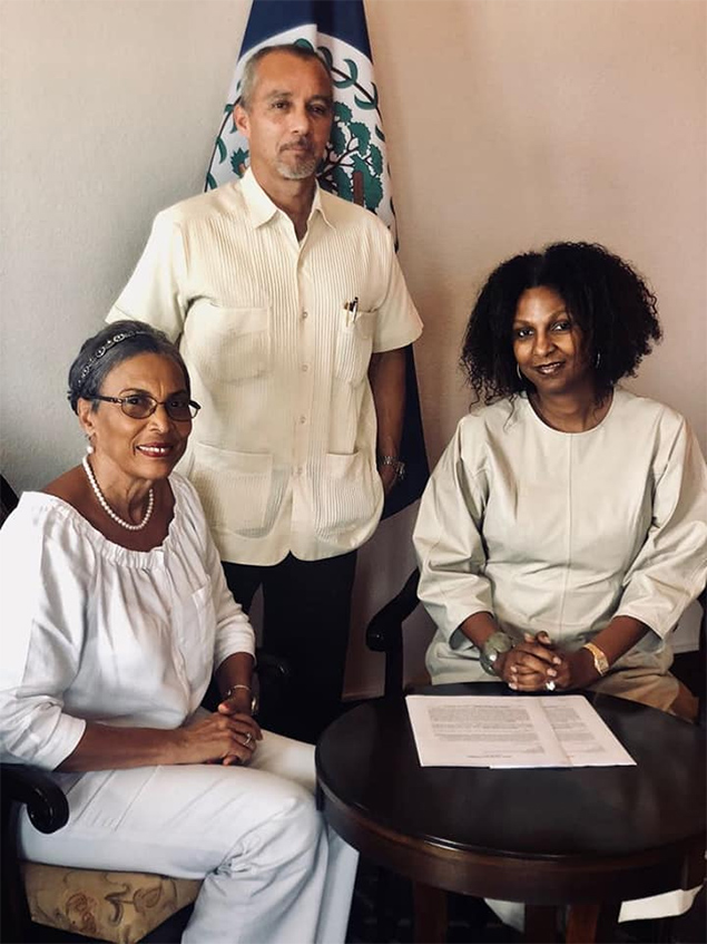 Kim Simplis Secures Grant for HIV/AIDS Campaign in Southern Belize