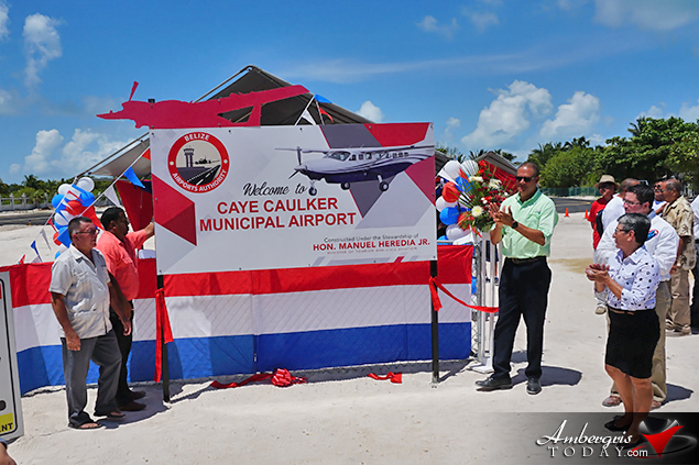 Caye Caulker Airport is Back in Action, Opens after renovations and repairs to the runway