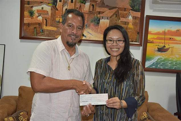 Ministry of Health Receive $30,000 for Wellness Parks