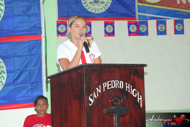 Patriotic Children's Rally Held in San Pedro
