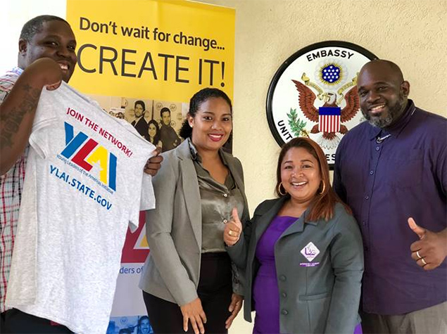 US Embassy Announces Fellowhip Program for Young Belizean Leaders