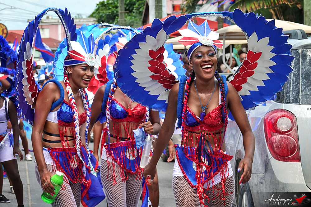 Belize Independence Day Parade in San Pedro, Ambergris Caye