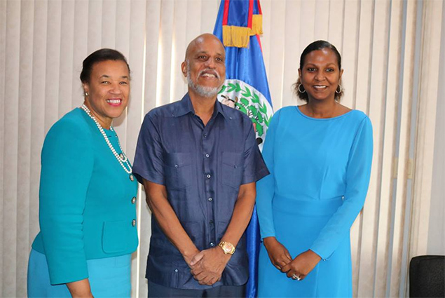 Secretary General of the Commonwealth Visits Belize