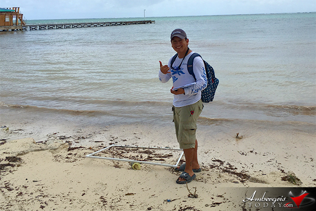 """Protecting Our Future"" – Kids in Action and Oceana Belize Partner for Beach Clean Up"