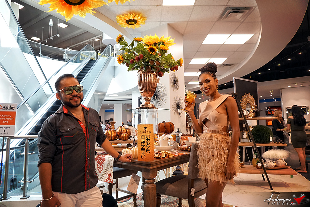 Mirab's Grand Opening of Super Department Store in Belize City
