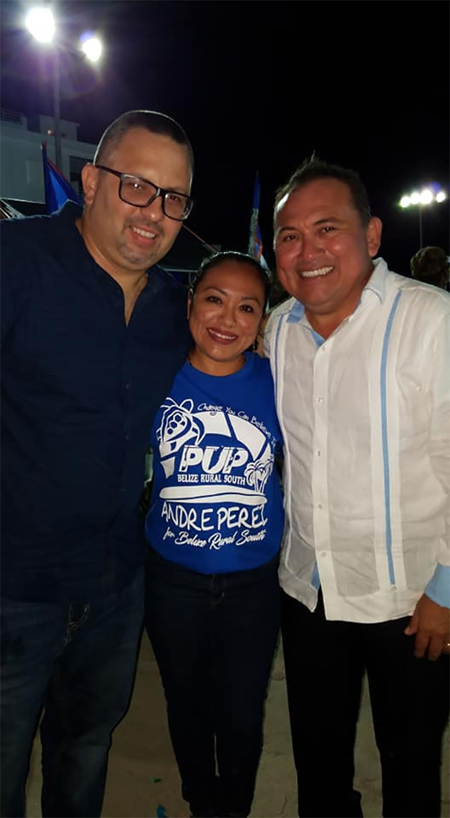 Andre Perez Endorsed for PUP Belize Rural South