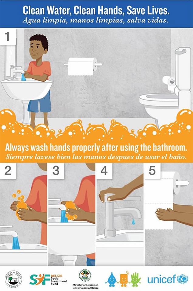 "Global Hand Washing Week - ""Clean Hands - a recipe for health"""