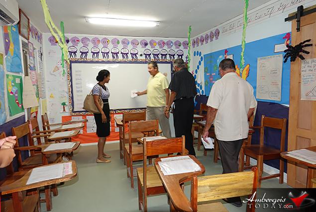Ambergris Caye Elementary School Celebrates School's Growth