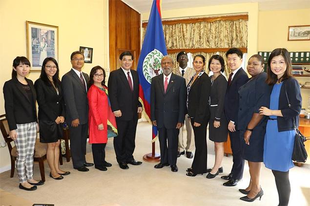 H.E. Remus Li-Kuo Chen – New Ambassador of Republic of China (Taiwan) to Belize