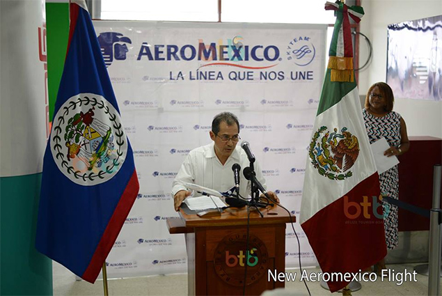 Aeromexico Begins Direct Flight From Mexico City To Belize