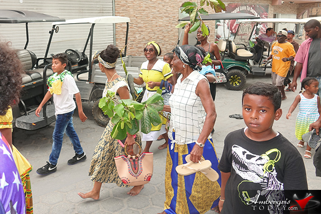 San Pedro Celebrates Garifuna Settlement Day 2018