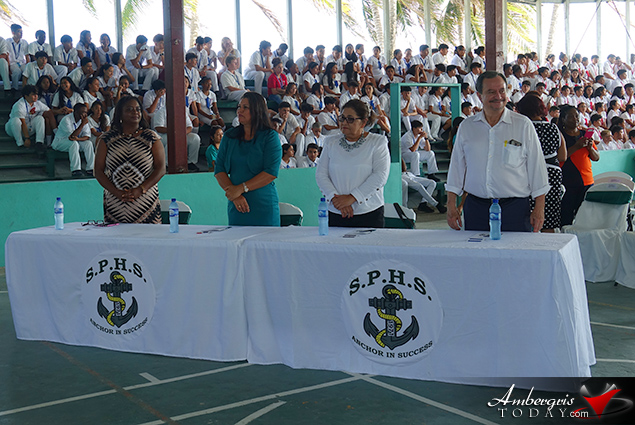 San Pedro High School Hosts SICA Ministers of Education and Culture